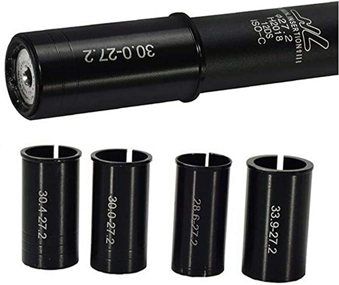 Bicycle Seat Post Shim Tube Sleeve Adapter 27.2 to 30.4mm//30.8mm//31.6mm 15 Sizes