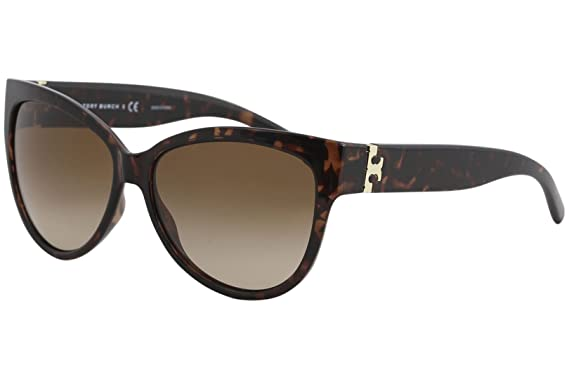 31073f6a455f Amazon.com: Tory Burch Women's 0TY9033 Tortoise/Brown Gradient ...