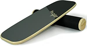 Yes4All Balance Board Trainer Wooden with Adjustable Stoppers – 3 Different Distance Options 11, 16 and 22 inches