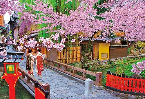 Gion Kyoto Japan (300-piece jigsaw puzzle cherry bloom Gion Japan Kyoto Geisha (26x38cm))