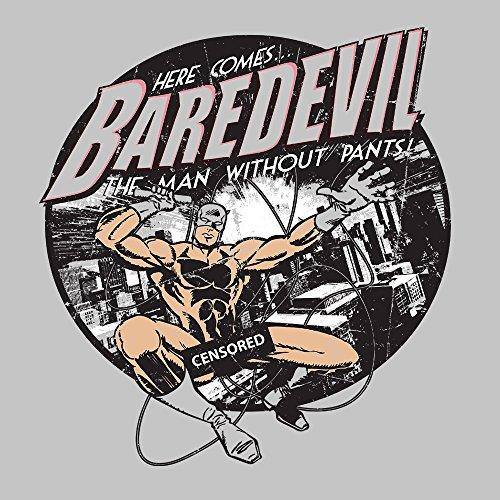 Here Comes Baredevil The Man Without Pants Daredevil Parody Men's Vest