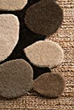 nuLOOM Pebbles Hand Tufted Accent Wool Rug, 2' x