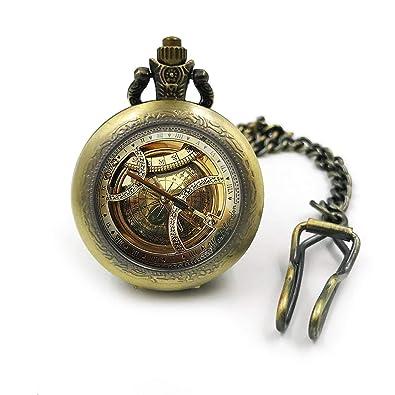 Plateado Reloj de bolsillo de brújula vintage| reloj de bolsillo| relojes de bolsillo| regalo para él| reloj de bolsillo para hombre| brújulas| regalo para ...