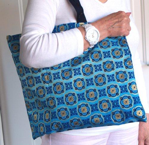 gold Tote Blue Tentazioni Le Bag Per Blu Donne 0xUUdBw