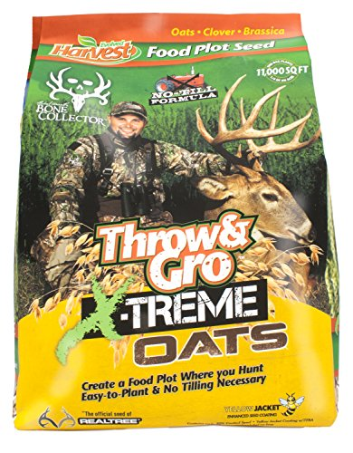 Evolved Harvest Throw & Gro Xtreme Oats Deer Food Plot Seed