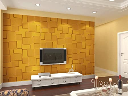 Brick 3d Wall Panels Dining Room Living Room Bedroom Feature Wall Decor 3 Square Metres 12 Panels Amazon Co Uk Kitchen Home