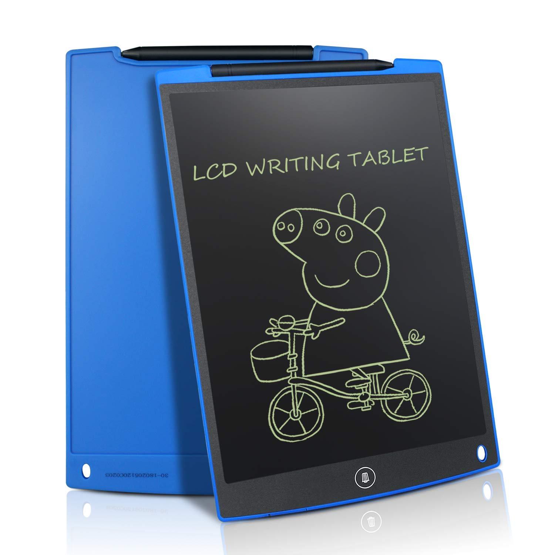 NEWYES LCD Tablette d/écriture Graphique Dessin 12 Pouces Ewriter LCD Tablette d/écriture Bon March/é M/émo Pad magn/étiques Bloc-Notes Notepad Comprend 1Stylo Rose