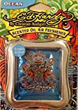 4 X ED HARDY Koi Fish By Christian Audigier ' SCENTED OIL AIR FRESHENER (OCEAN BLUE)