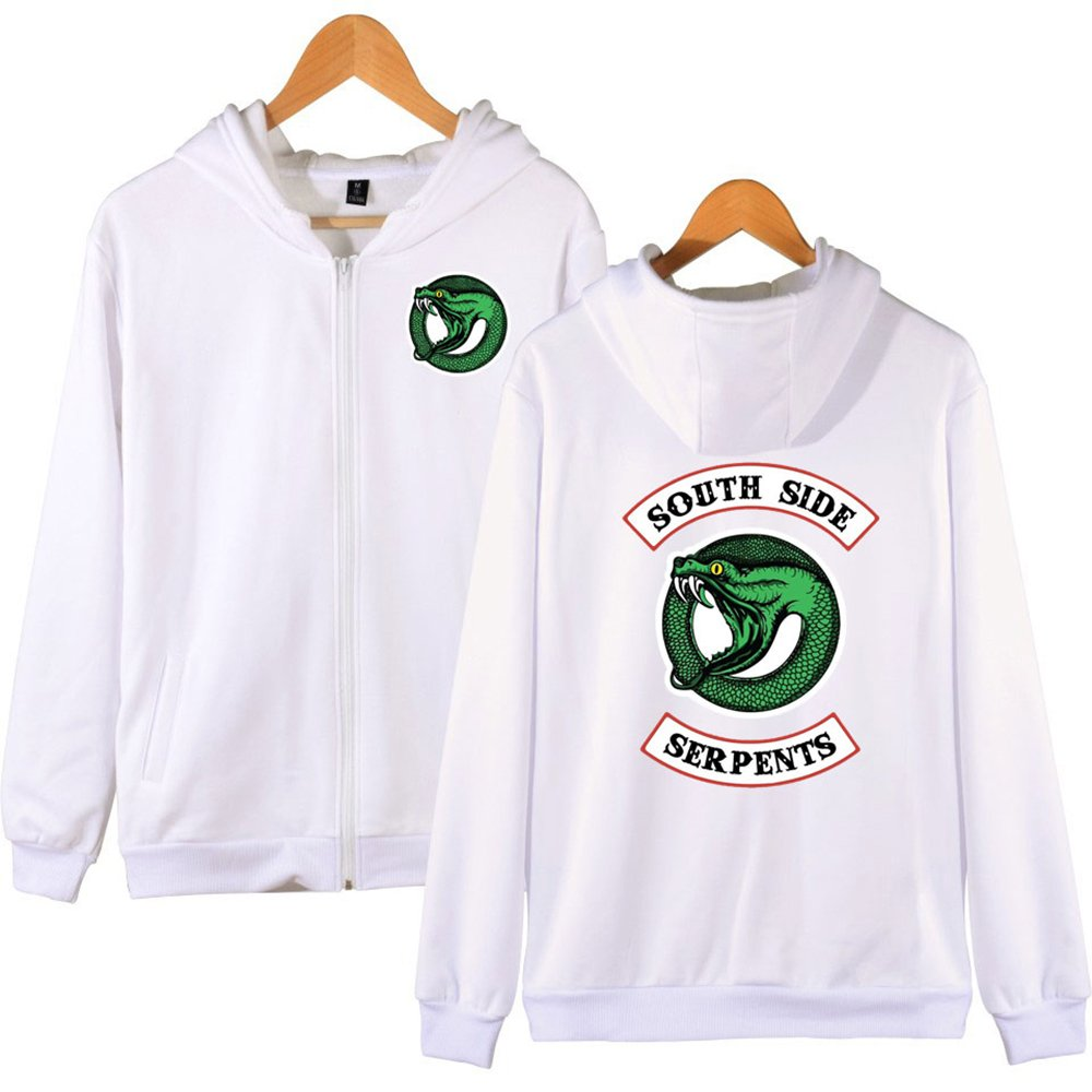 Southside Serpents Riverdale Pullover Felpa Pullover a maniche lunghe Costume