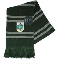 Harry Potter SCIARPA UFFICIALE Casa di SERPEVERDE Scuola di Magia di Hogwarts - ORIGINALE Licenza WARNER BROS