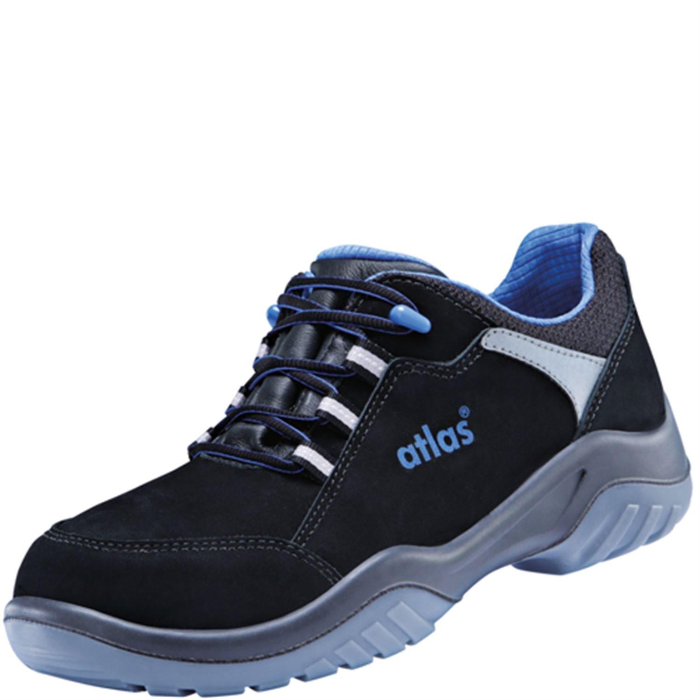 ESD-Sicherheitshalbschuh ERGO-MED 645 XP Blauline in Weite 20345 12 nach EN ISO 20345 Weite S3 SRC in Größe 45 von ATLAS - 05d533