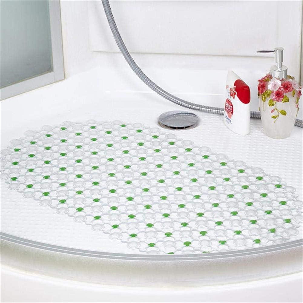 f/ácil de Limpiar Alfombrilla de ba/ño Antideslizante de PVC Respetuoso con el Medio Ambiente 37 * 66cm PanShui Rojo