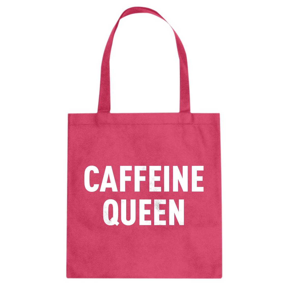 Indica Plateau Caffeine Queenキャンバストートバッグ B074HJ92R9 ピンク L