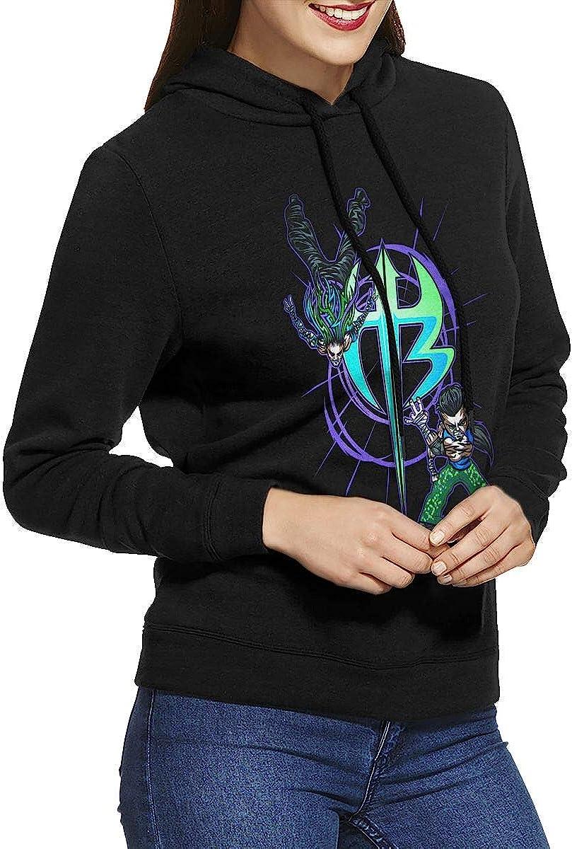 Hidreama Jeff Hardy Logo Womens Pullover Hoodie Casual Sweatshirts