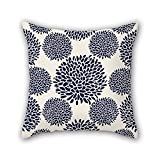 PILLO flower cushion cases ,best for home,family,lover,valentine,bedding,kids girls 16 x 16 inches / 40 by 40 cm(both sides)