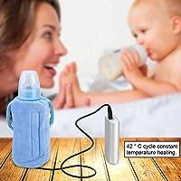 Bottle Warmer, Baby Bottle Warmer, Baby Bottle Holder, Bottle Heated Cover for Infant Formula for Warming Breast Milk…