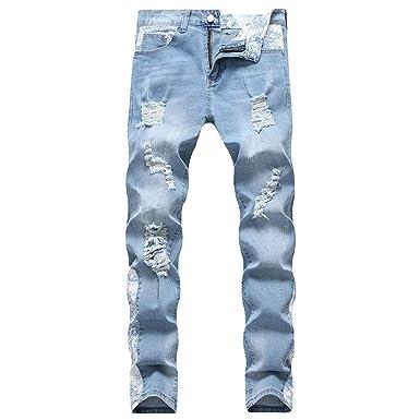 Sylar Pantalones Vaqueros Hombre Moda Pantalones Vaqueros ...