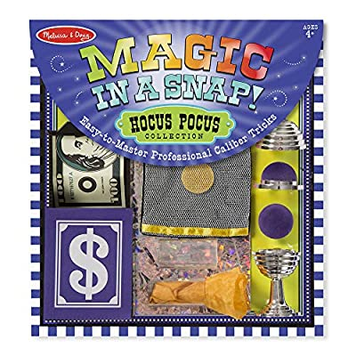 Melissa & Doug Magic in a Snap! Hocus-Pocus Collection: Toy: Toys & Games