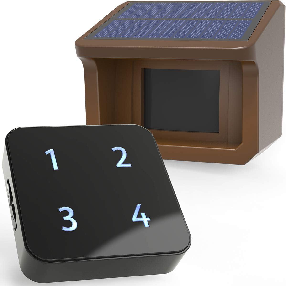 HTZSafe Solar Driveway Alarm System