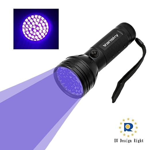 86 opinioni per Vansky® Torcia UV LED Lampada 51 Leds Blacklight Animali Urina Cane/Gatto