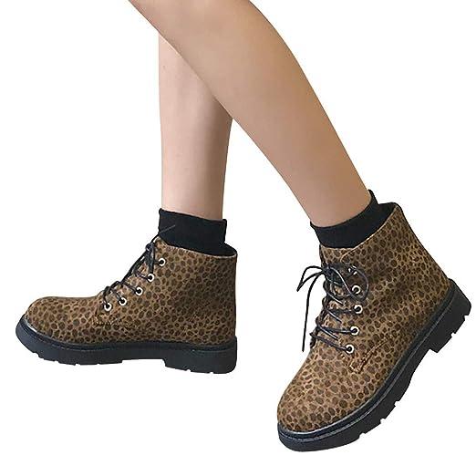 df2320ba80a9 Amazon.com  Clearance! Women Leopard Boots