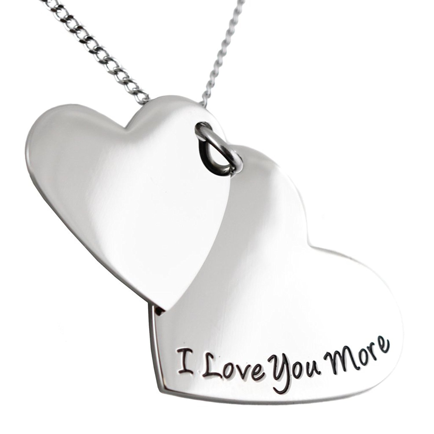 'Granddaughter, I Love You More' Pendant Necklace by Steal My Heart (Image #3)