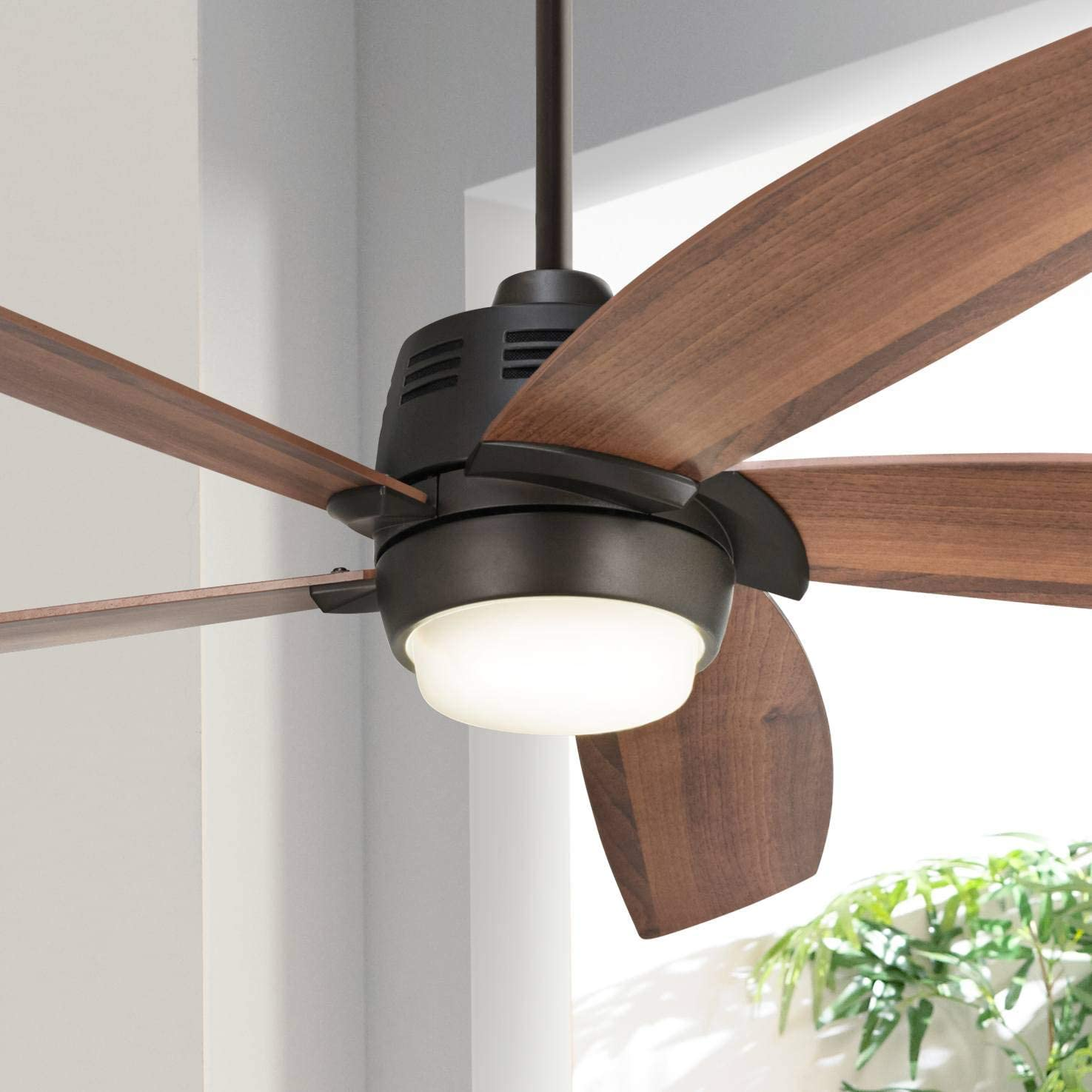 56″ Casa Ecanto8482 Oil-Rubbed Bronze LED Ceiling Fan