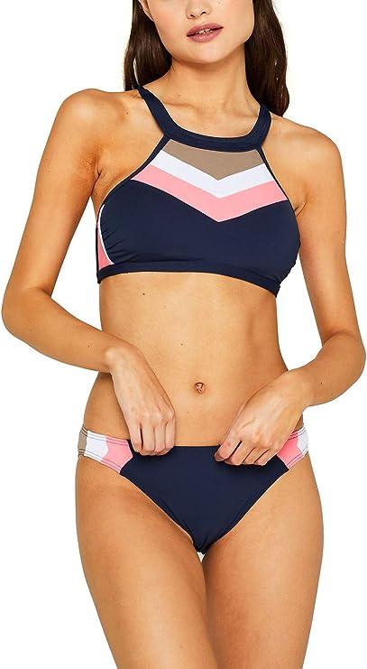 ESPRIT Damen Kalani Beach Mini Brief Bikinihose