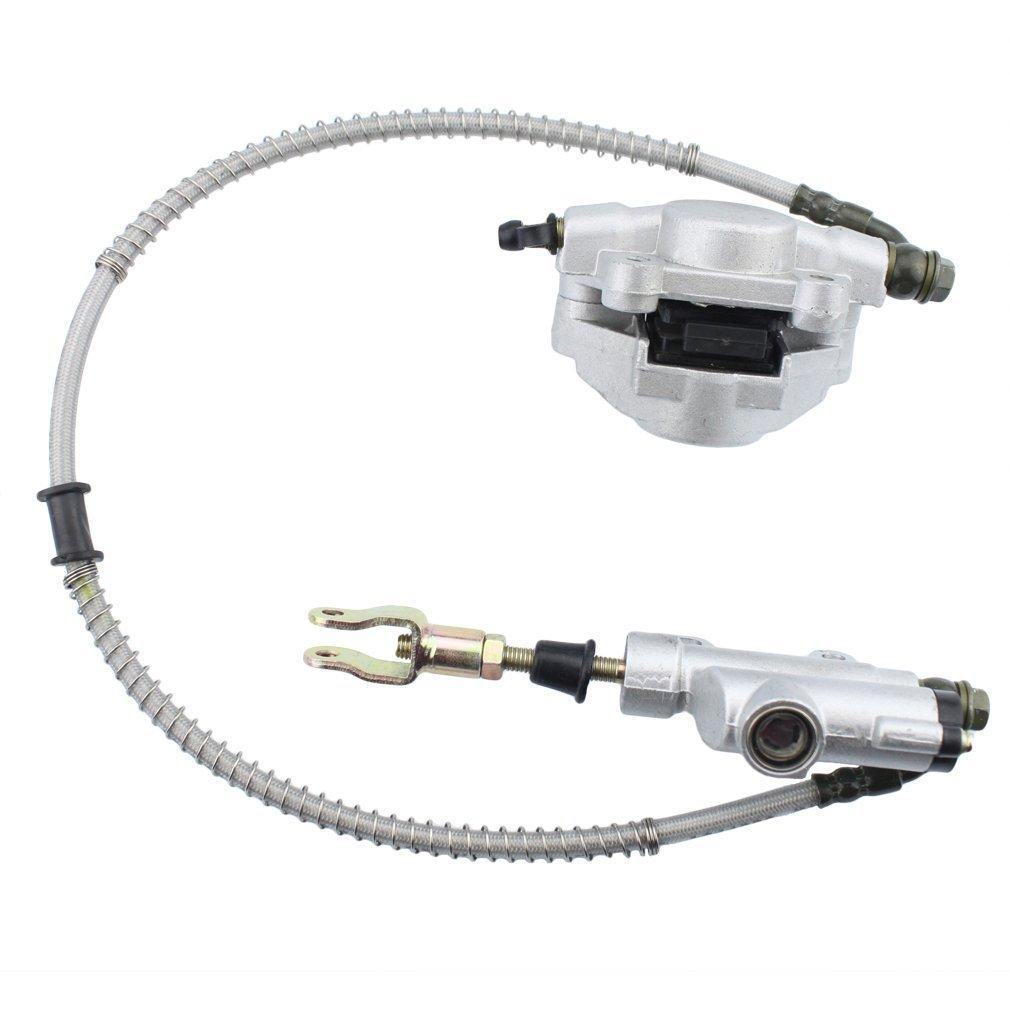 Caliper cylindre de ma?tre d'assemblage de frein ¨¤ disque arri¨¨re pour Taotao ATV Quad 150cc 200cc 250cc GOOFIT Group-36