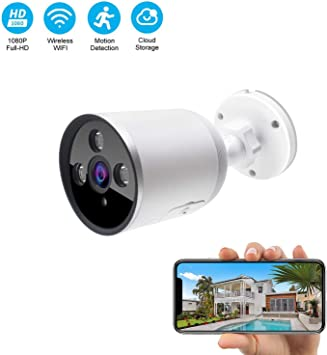 Room Camera Anti Vandal Theft Wireless Security Home Video 1080P