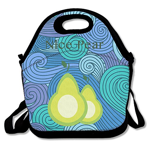 Nice Pear Lunch Bag One Size