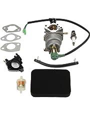 HIPA Carburetor + Air Filter Tune up Kit for Honda EB5000X EM5000S EM5000SX EM5000X EW171 Generator