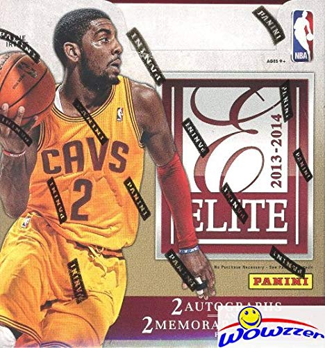 2013/14 Panini Elite Basketball Factory Sealed HOBBY Box with FOUR(4) AUTOGRAPHS/MEM! Look for Rookies Cards and Rookie Autographs of the GREAK FREAK Giannis Antetokounmpo! Loaded! from Panini