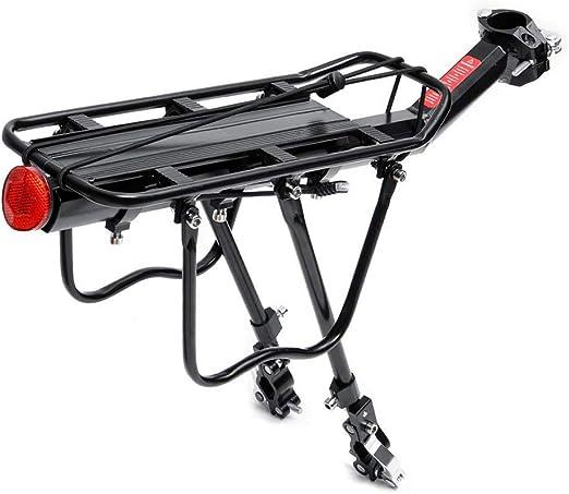 Carrier Trasera para Bicicleta Estante de ciclo del asiento ...
