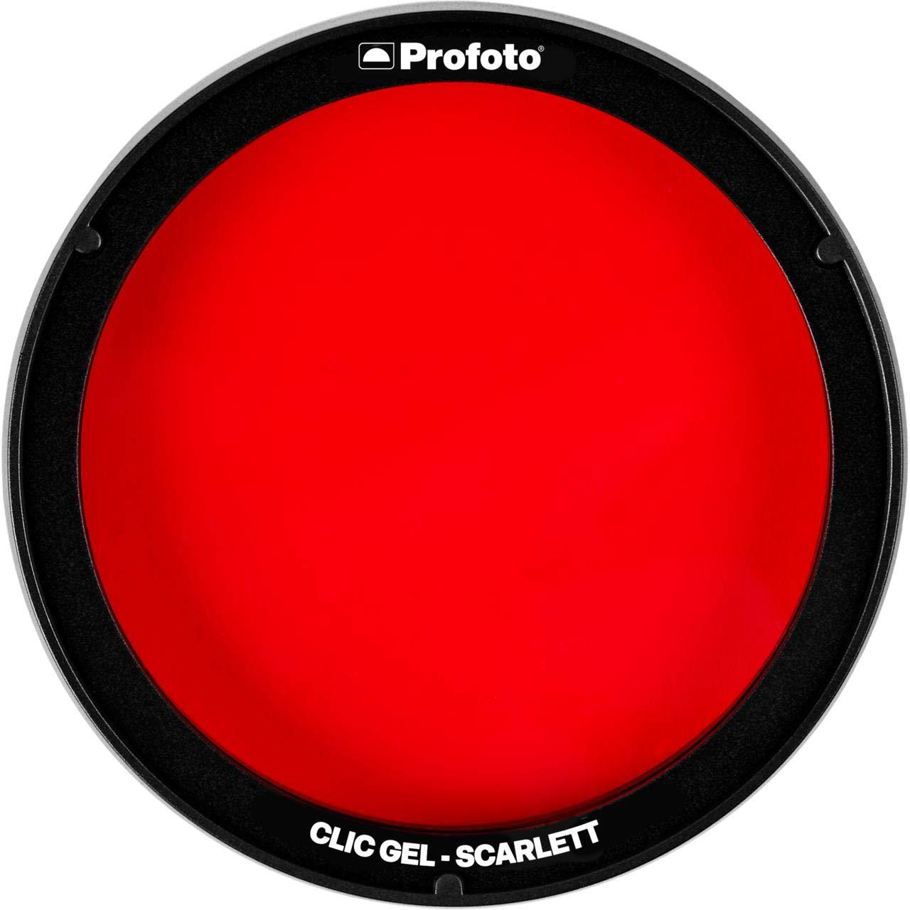 Clic Gel-Scarlet by Profoto