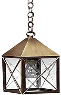 product image for Brass Traditions 522 SXDC Medium Hanging Lantern 500 Series, Dark Antique Copper Finish 500 Series Hanging Lantern