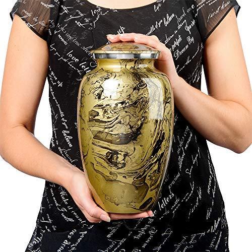 Desert Sands Beautiful Adult Cremation Urn for Human Ashes - w Velvet Bag