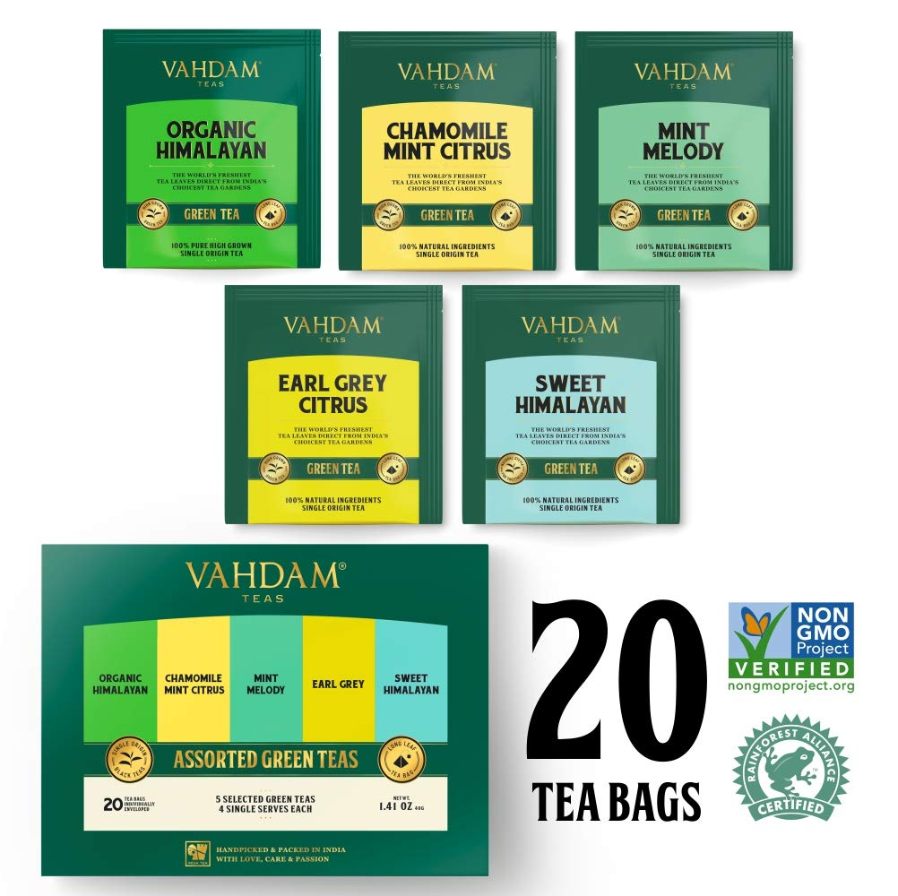 VAHDAM, Chai Tea TRIO - 3 TEAS - 100% Natural Ingredients & Spices | Ginger Chai, Sweet Cinnamon Chai, Maharani Oolong Chai | Original Indian Masala Chai Blends | Perfect Tea Gift Set & Tea Sampler