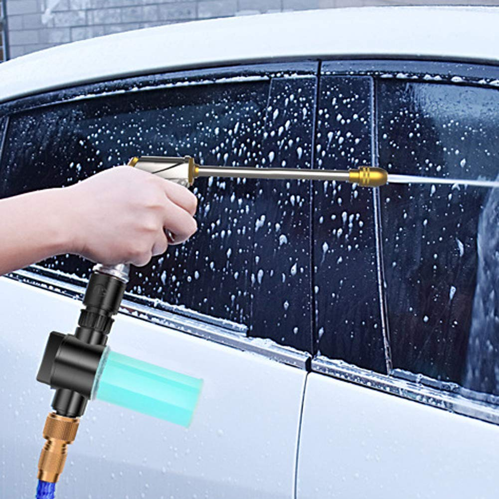 JUST N1 Car Wash Sprayer Foam Pot 1PC Plastic High Pressure Portable Extended Household Garden Watering Tool Vehicle Cleaning Soap Bottle