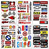 Best4Buy Compatible for Car Auto Truck Automotive Accessories Sponsor ATV Drag Racing Pack 6 vinyl D6023 decals stickers