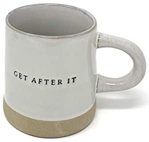 Stoneware Mug Get After It