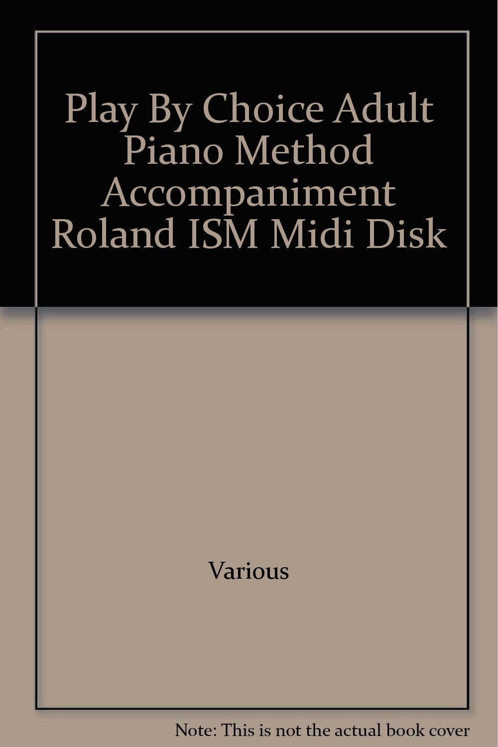 method by piano midi play Adult choice