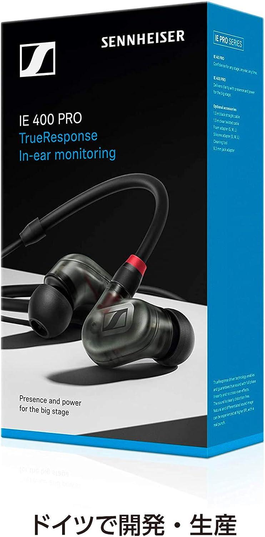 SENNHEISER IE 400 PRO SMOKY BLACK In-Ear-Kopfh/örer Monitor