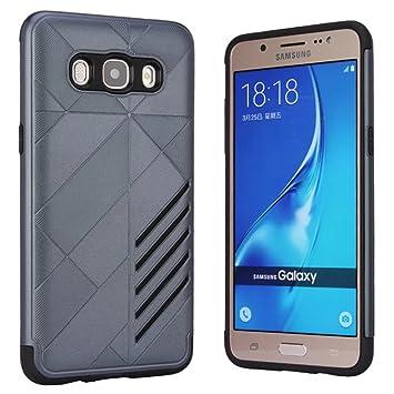 Samsung Galaxy J5 2016 Case, Vandot [Pesada] [Doble Capa] Carcasa de Protección Hibrida Armadura Funda Robusta Resistente Choque Absorción para ...