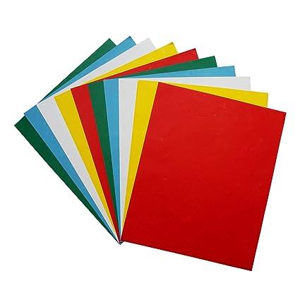 Amazon Com Misscrafts 10pcs Transfer Tracing Paper Colourful Carbon