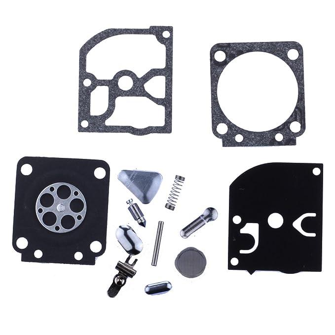 HIPA RB-40 Kit Joints et Membranes de Carburateur pour Coupe-bordure Débroussailleuse STIHL FS106 FS120 FS108 FS200 FS250 FS350 FS450