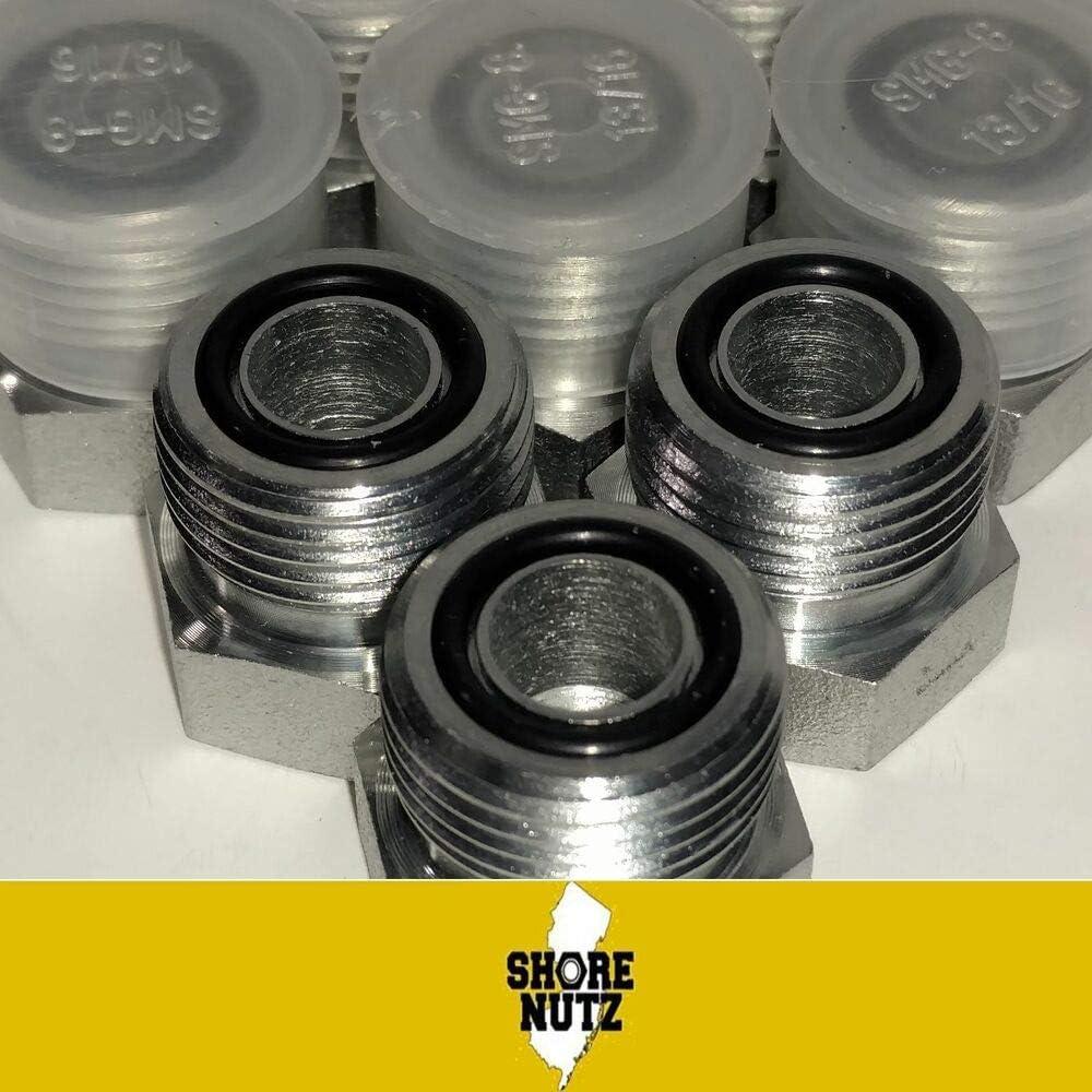 10 pcs Hydraulic Adapter Fitting 1-3//16-12 Steel 3//4 # 12 ORS ORFS Plug