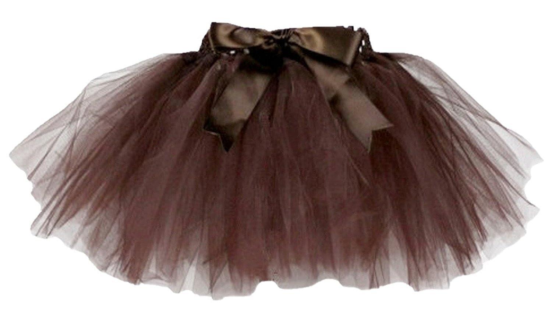 Mä dchen Tutu 3 Layers Tü llrock Ballet Prinzessinn Rock fü r Hochzeit Party Zeremonie Casual