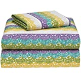 Grape Lace College Classic Extra-Long 3-Piece Sheet Set