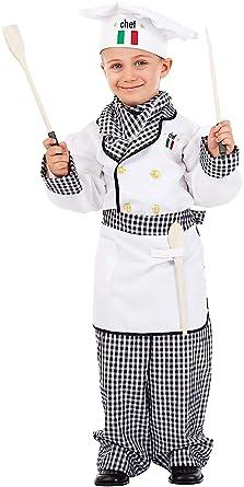 Disfraz Cocinero Vestido Fiesta de Carnaval Fancy Dress ...